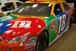 Kyle Busch's #18 M&M Toyota