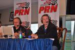 PRN's Doug Rice Along with All Star and 600 winner Kurt Busch.