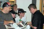 Greg Biffle signing autographs