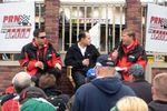 Brad Gillie, David Gilland and Jim Noble