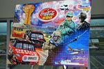 The Sam Bass cover art fot rhe Coca-Cola 600 program.