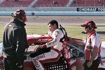 Kyle Larson during Kobalt 400 qualifying - 2014 Las Vegas Motor Speedway