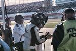 Brad Keselowski during Kobalt 400 qualifying - 2014 Las Vegas Motor Speedway