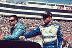 Aric Almirola and Brian Vickers - 2014 Las Vegas Motor Speedway