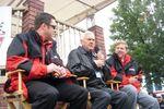 Brad Gillie, Junior Johnson and Jim Noble