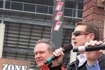 Doug Rice and Kurt Busch