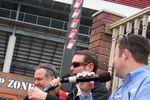 Doug Rice, Kurt Busch and Brad Gillie