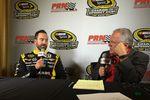 Doug Rice and Paul Menard