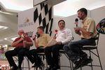 Benny Parsons, Jeff Burton, Mark Garrow and Kerry Earnhardt