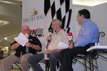 Benny Parsons, Dale Jarrett and Mark Garrow