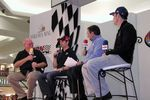 Benny Parsons, Jeff Gordon, Mark Garrow and Jimmie Johnson